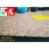 China Fitness Center Interlocking Rubber Floor Tiles , Industrial Rubber Matting Roll wholesale
