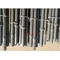 China T51 Coupling Threaded Drill Rod Thread Rock Drilling Tools 225mm Length wholesale