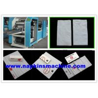China Custom 330mm Paper Napkin Machine 1200 Sheets Per Min With Flexo Printing wholesale