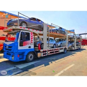 16 Tons 3 Axles  18 Wheeler Fuwa 15M Semi Car Hauler Trailer