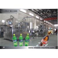 China Automatic 3 In1 Pet Bottle Carbonated Drink Filling Machine on sale