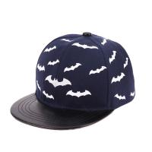 China Baby flat brim PU  hat snapback ace brand cap with printed any logo wholesale