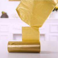 China Eco Drawstring Garbage Bags PE Handle Plastic 30 Pcs / Rolls For House Clean wholesale