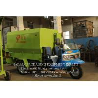 China TMR Mixers Feed Scattering Machine For Dairy Farm , Feed Spreader on sale
