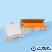 China Stable Vibrating Force Electromagnetic Vibratory Mining Feeder Compact Structure Good Rigidity on sale