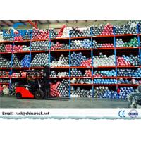 China Heavy Duty Selective Pallet Racking , ISO9001 / ISO14001 Industrial Storage Shelves wholesale