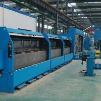China Double Wires Copper Wire Drawing Machine Sliding Heavy Duty With No Alternating Bending wholesale