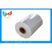 China Shrinkable Clear PVC Shrink Wrap Tube Film For Wrapping And Packaging wholesale