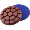 "China 3""  Diamond metal chip Floor Polishing Pad Grit 50 for Concrete / Terrazzo / Granite wholesale"