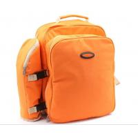 Buy cheap Fashion Orange Picnic Bag/Deluxe Four Person Backpack odm-y1 from wholesalers