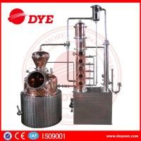 China 200L automatic  alcohol wine distiller copper equipment for vodka making wholesale
