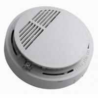 China 9V fire hard ionization chamber wireless smoke detector for any room on sale
