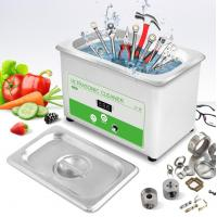 Buy cheap 0.8L Digital Industrial Ultrasonic Cleaner For Tools , Nuts , Bolts , Power Adjustable from wholesalers