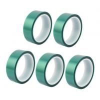 China 3M 8992 High Temperature Tape Green PET Silicone Tape For Powder Coating wholesale