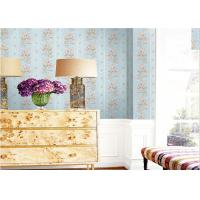 China 1.06*10m Size Deep Embossed Patterned Wallpaper Stripe Design For Sitting Room wholesale