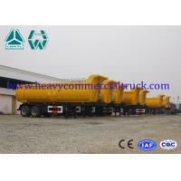 China 2 Axle Heavy Duty Dump Trailer Hyva Cylinder 30 Ton Custom Dump Trucks on sale