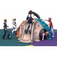 China Plastic LLDPE Kids Climbing Equipment different size outdoor climbing with slide wholesale
