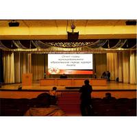 China Indoor P4 Background Seamless Stage LED Screen Carbon Fiber For DJ Concert wholesale