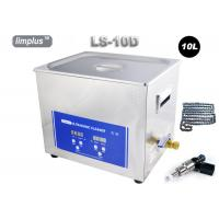 China Limplus Bicycle Chain Injector Table Top Ultrasonic Cleaner With Heater , 10 Liter Digital Ultrasonic Cleaner 200w wholesale