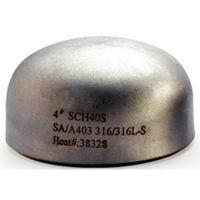 China Corrosion resistant seamless Butt Weld Fittings / Copper - Nickel Cap wholesale