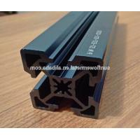 China Laser engraving on anodized aluminum, Super high precision blue anodized extruded aluminum profile on sale