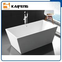 China Pure Acrylic Square Soaking Tub , Extra Deep Soaking Tub For Small Bathrooms wholesale