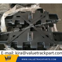 China Superior Material Black Track Shoe Pad Plate for Zoomlion Crawler Crane wholesale