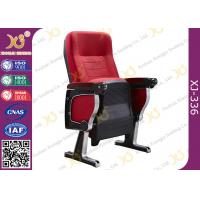 China Aluminum Strong Base Auditorium Theater Sesting Chairs 580 * 750 * 1060 MM wholesale
