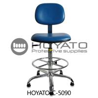 Buy cheap 360 Degree Rotation ESD Task Chair , Ventilated Leather Comfortable Office Chair from wholesalers