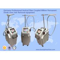 China Professional Vertical 808nm Diode Laser Hair Removal Machine Permanent wholesale