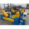 China Black PU Wheel Automatic Pipe Welding Rotator 60T Rotary Capacity wholesale