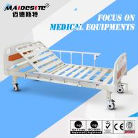 Buy cheap Single Crank One Function Manual Hospital Patient Bed , Manual Adjustable Bed from wholesalers