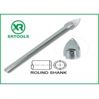 China Single Carbide Drill Bits Chrome Plated Round Shank With ISO 9000 Approval wholesale