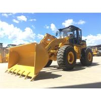 Buy cheap 5t wheel loader Articulated boom loader with joystick,rock bucket,weichai engine from wholesalers