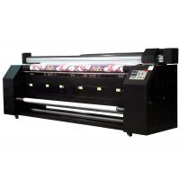 Buy cheap 3.2m subimation digital continuous printing machine Double Print heads from wholesalers