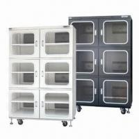 China Electronic Dry Cabinet for Industrial Storage, with 10 to 20% RH Controlled Relative Humidity Range wholesale
