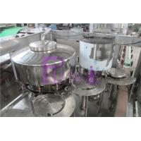 China 3.5kw Juice Filling Machine For Plastic Bottle 45mm Screw Capp wholesale