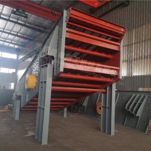 China Customized Round Vibrating Screen , Vibratory Screening Equipment Mining Quarry on sale