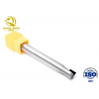 Buy cheap 2 Flutes Polycrystalline Diamond Cutting Tools PCD Corner Radius For Acrylic from wholesalers
