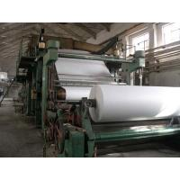 Buy cheap New Technology 1880mm Jumbo Rolls Tissue Paper Making Machine Toilet Paper Mill from wholesalers