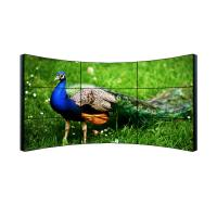 China 3x3 Full Hd Lcd Display , Ultra Narrow Bezel Curved 4k Video Wall Display wholesale