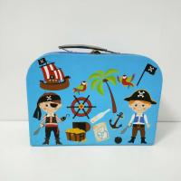 Buy cheap Pirate Character Cartoon Cardboard Suitcase Box 28*18*8cm Or Custom Size from wholesalers