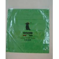 China custom green color plastic polypropylene zipper bags packing sizes design maker wholesale