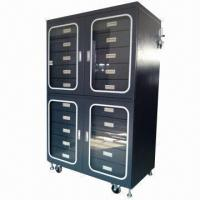 China Dry/Nitrogen Cabinet with 20 Drawers Inside, LED Display and ESD Safe  wholesale