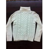 China Lady Turtle Neck Long Sleeve Knitted Pullover Sweater Fashion Garment (A081) on sale