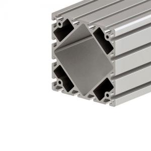 China 160*160 aluminium extrusion T-slot profile use for equipment enclosure aluminium board framing wholesale