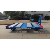 China Safety Container Pallet Dolly Hot Dipped Galvanized With Swivel Wheel wholesale