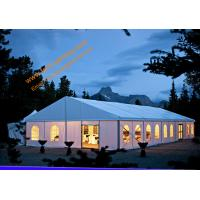 China 100km/hr Windproof Outdoor Party Wedding Tent  Aluminum Structure Fire Retardant Marquees wholesale