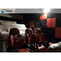 China Immersive 5D Movie Theater Cinema 1 Year Warranty High Identify Projector Capacity 2-12 Persons wholesale
