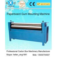 China Manual Feeding Sheet Pasting Machine to Make Single Facer Corruagted Board wholesale